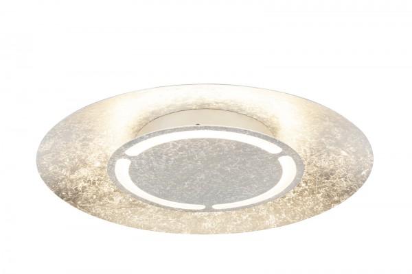 GLOBO LED-Deckenlampe Deckenlampe silber-metallic rund 3000K 41901-24
