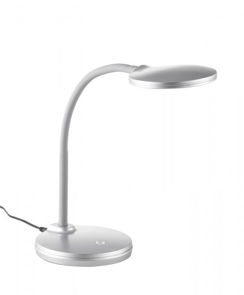 Nino Leuchten Tischleuchte Schreibtischleuchte LED Flex 52290102 silber