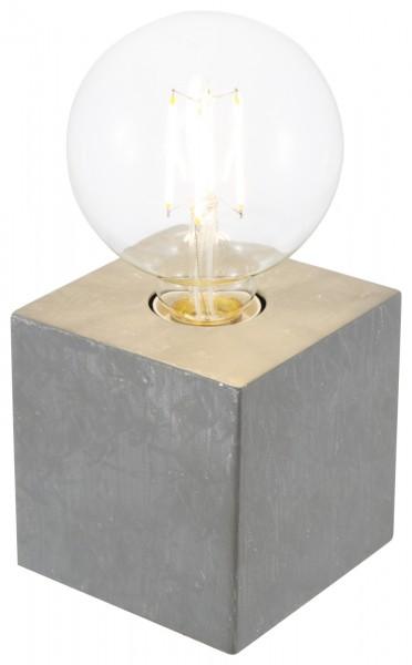 Nino Leuchten Tischleuchte Tischlampe Touch 50240148 betonfarbig