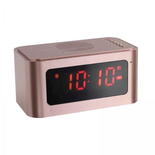 ClipSonic Alarm Radiowecker Lautsprecher digital USB bluetooth TES186P