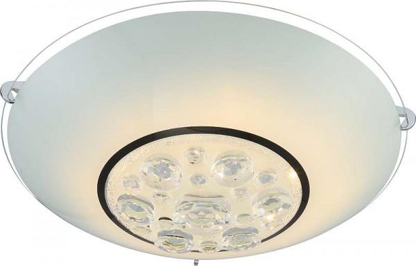 GLOBO Louise LED Deckenlampe Deckenleuchte Lampe Kristalle 48175-18