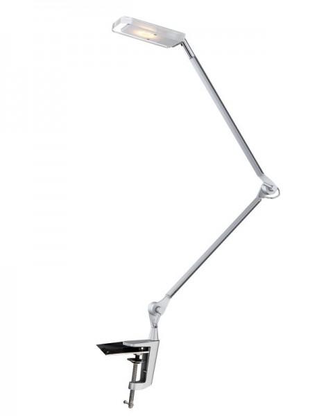 Globo LED Schreibtischlampe Metall Klemm-Strahler Schalter 5W 58145K