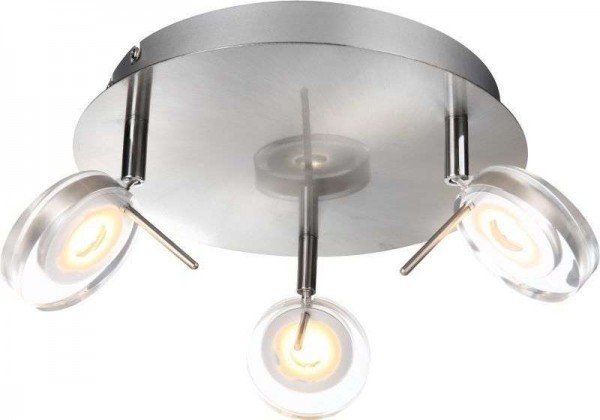 GLOBO Canyon LED Deckenleuchte Deckenlampe Lampe 3 Spots 56190-3