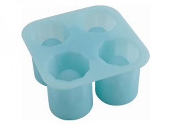 BERGNER Eiswürfelform Eiswürfelbereiter 4 Eiswürfel Eisgläser BG-4786