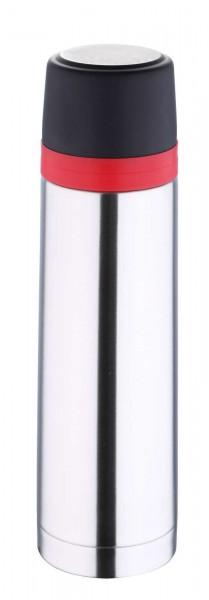 BERGNER TRAVEL Thermoskanne Edelstahl Isolierflasche 750 ml BG-5976-MM
