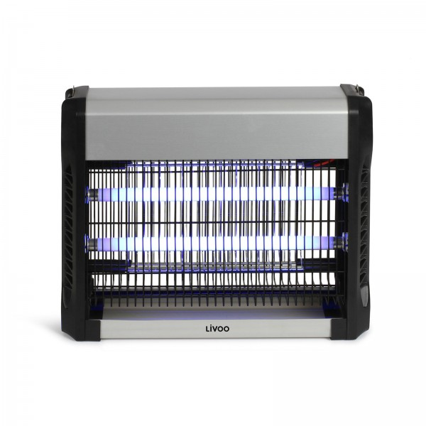 LIVOO Insektenvernichter UV-Blaulicht geräuschfrei 16 Watt DOM417