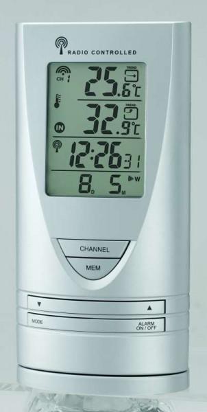 Cresta Digital Wetterstation Thermometer Wetteranzeige Barometer WX171
