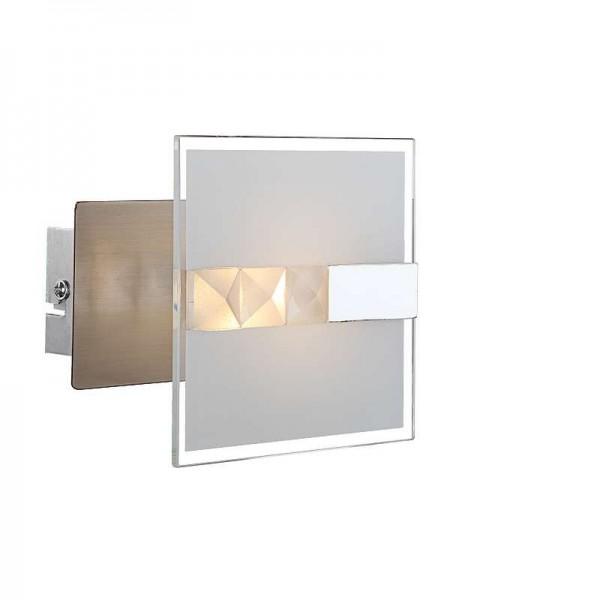 GLOBO LED Wandleuchte Wandlampe Leuchte Lampe 1 Strahler Glas 41711-1