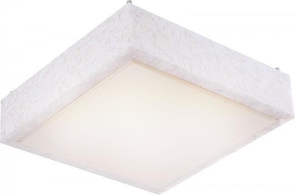 GLOBO Tico LED Deckenleuchte Metall mit weißen Dekoreinlagen 41678