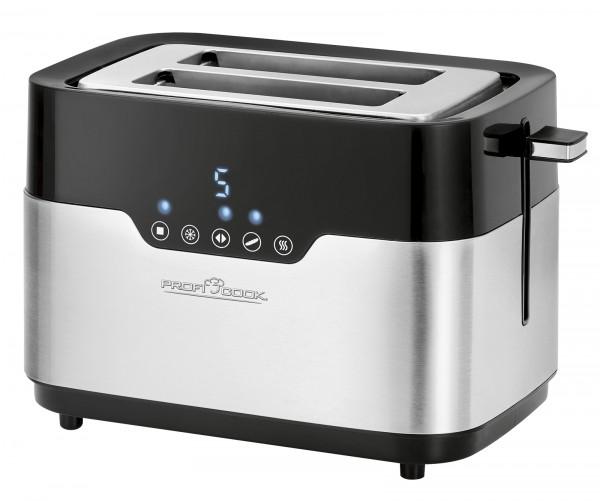 PROFICOOK 2-Scheiben-Toaster Sensor Touch Edelstahl PC-TA 1170