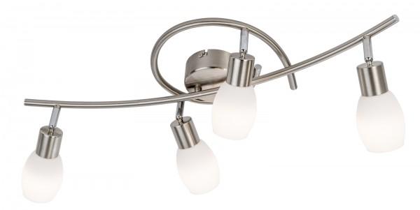 Nino Leuchten Deckenleuchte Deckenlampe Opalglas 4-flammig 67510401