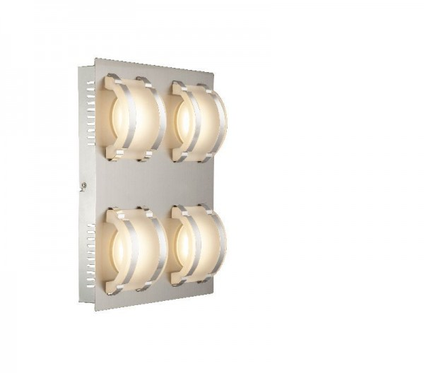 GLOBO LED Deckenleuchte Glas Decken-Beleuchtung Deckenlampe 41734-4