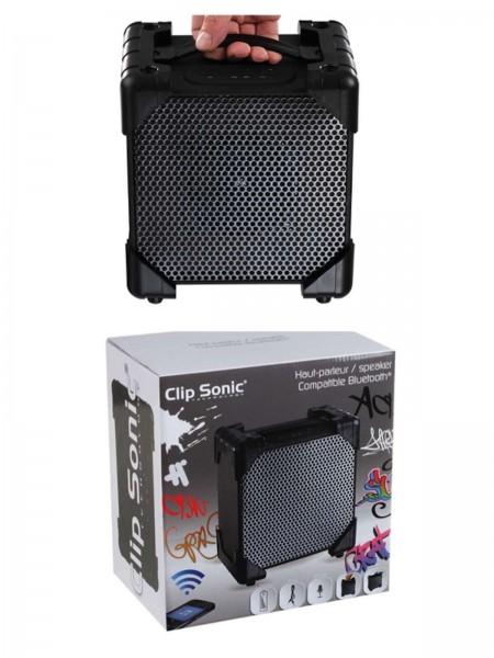 ClipSonic Bluetooth-Lautsprecher integriertes Mikro USB TES120N