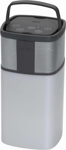 AEG Bluetooth-Lautsprecher Soundsystem Powerbank BSS 4841 weiß