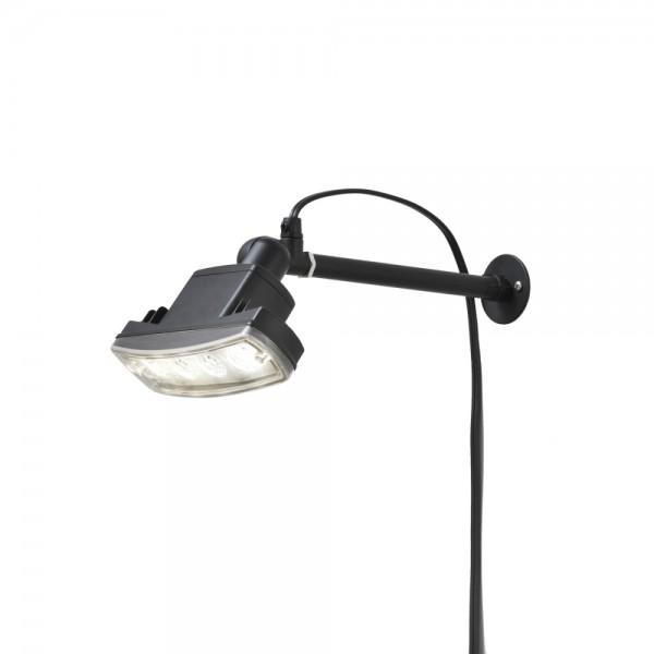 Konstsmide Amalfi LED-Stab-Leuchte Außen-Lampe in Schwarz 7646-000