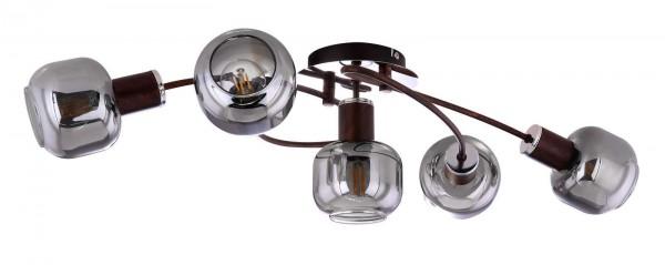 GLOBO PALLO Deckenleuchte Deckenstrahler rund 5-flammig LED 54303-5