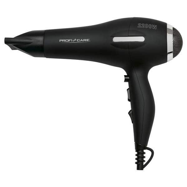 PROFICARE Profi-Haartrockner Haarfön Ionic 2200W PC-HT 3017 schwarz