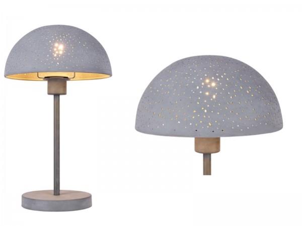 GLOBO FABIAN Tischleuchte Tischlampe Metall Dekorstanzungen 54653T