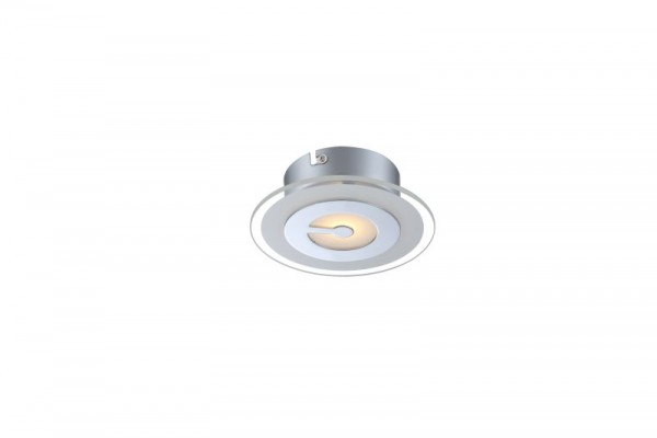 GLOBO LED Deckenlampe Deckenleuchte Leuchte Lampe Metall chrom 41698-1