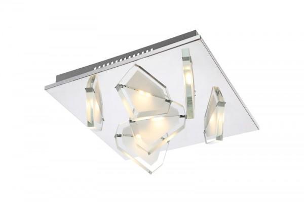 GLOBO LED Deckenlampe Wohnzimmerlampe Deckenleuchte Leuchte 68596-6