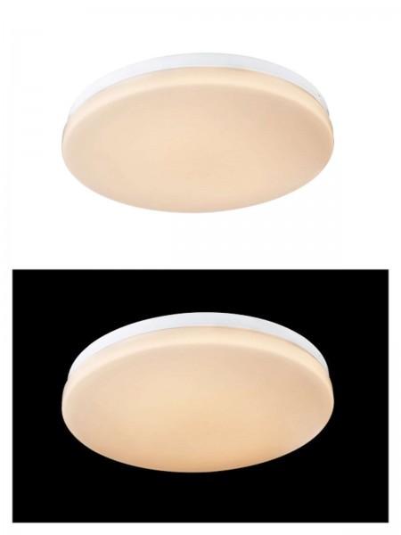 Globo Deckenleuchte Deckenlampe rund Acryl opal Hochvolt 41625-12