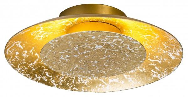 Nino Leuchten LED-Deckenleuchte Deckenlampe rund 22 cm 62140645 gold