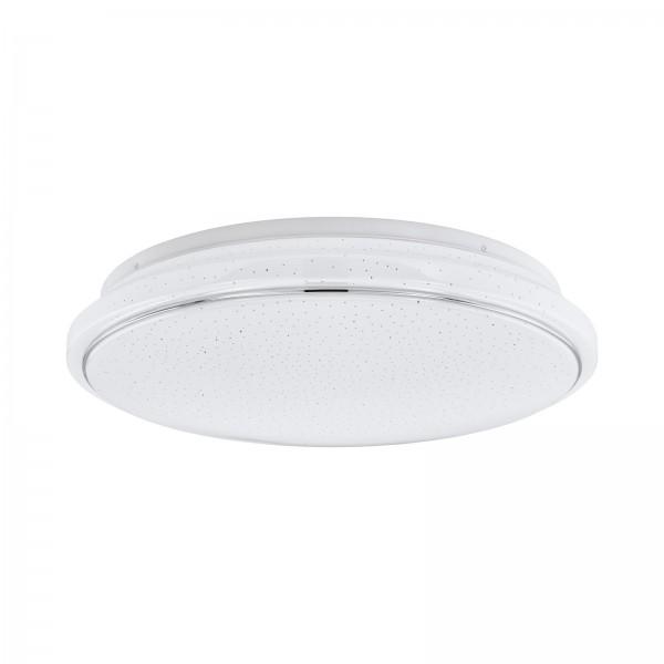 EGLO Deckenleuchte Deckenlampe Kristalleffekt CCT-Lichtsteuerung 34046