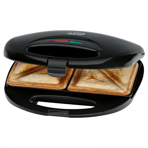 CLATRONIC 2-Scheiben Sandwich-Toaster Sandwichmaker ST 3477 schwarz