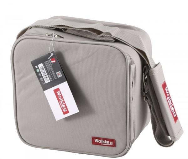 BERGNER Picknick-Tasche Ausflugs-Tasche Picknick-Beutel BG-3652 grau