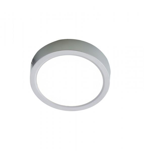 Nino Leuchten Deckenleuchte dimmbar rund 30 cm 61033044 silber