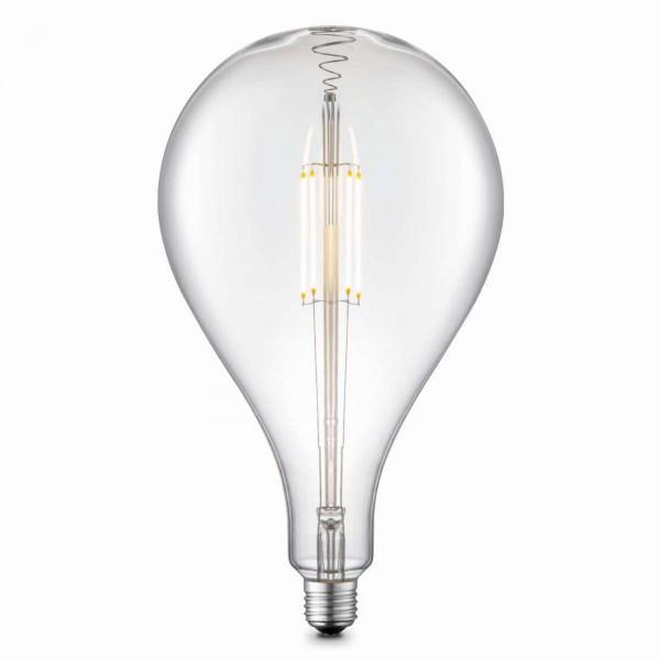 GLOBO LED-Leuchtmittel Glühbirne retro Glas kar 16 cm 11481
