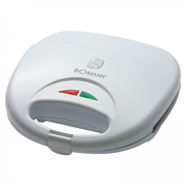 BOMANN 2-Scheiben Sandwichtoaster 750 Watt Backampel ST 5016 weiß