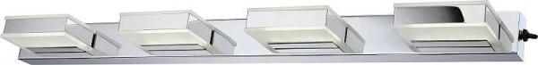 GLOBO Harper LED Wandlampe Wandleuchte Lampe Schalter Acryl 41697-4