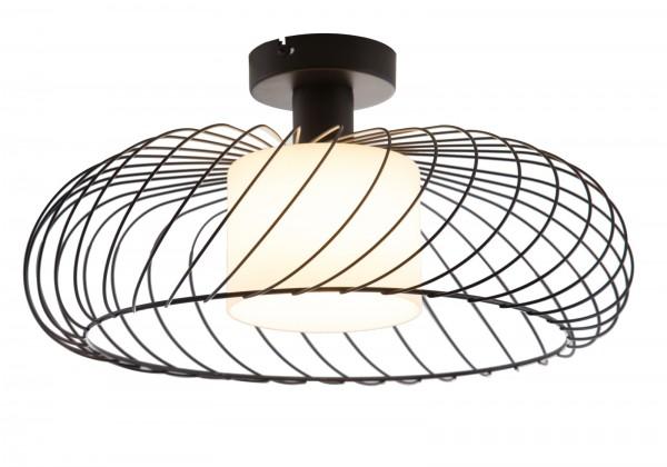 Nino Leuchten Deckenleuchte Deckenlampe Metall Opalglas 61154008
