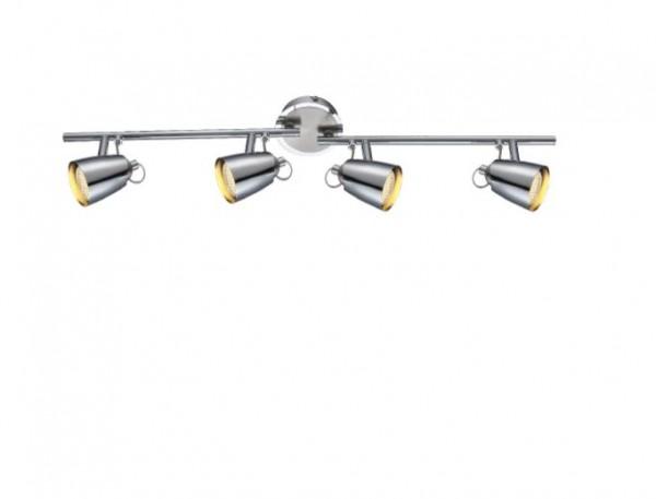GLOBO LED Deckenstrahler Deckenleuchte Deckenlampe 4 Spots 57604-4