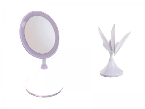 DomoClip Schminkspiegel LED Spiegelleuchte Vergrößerung DOS151
