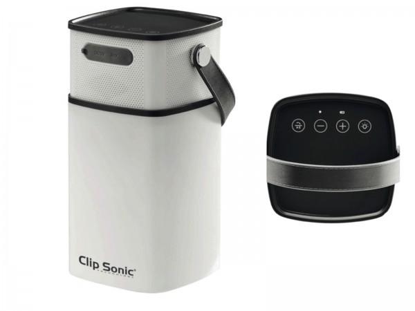 ClipSonic kabelloser Lautsprecher Bluetooth Laterne Mikrofon TES147