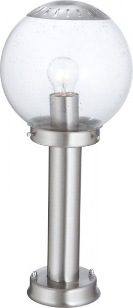 GLOBO Bowle II Edelstahl Außen-Lampe H 45 cm Außen-Leuchte Kugel 3181