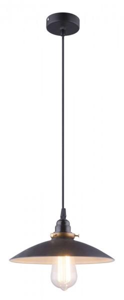 GLOBO Hängeleuchte Pendellampe Metall Design traditionell 15026B schwarz