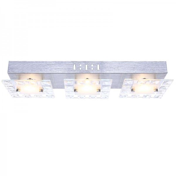 LION LED Wandleuchte Wandlampe Wohnzimmer-Lampe Kristalle 4141694-3
