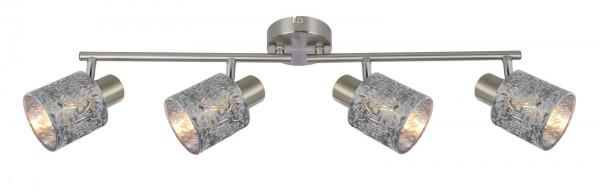 GLOBO Deckenstrahler Dekorlampenschirme Samt 4-flammig 54122-4